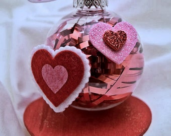 Heart Themed/Valentine's Day Ornaments