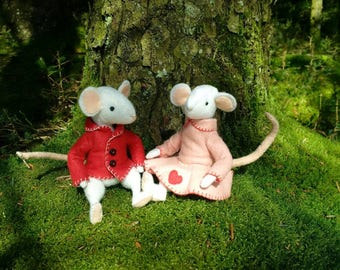 Thornton and Rosie Mouse felt sewing kit