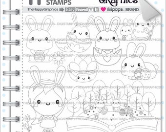 Rabbit Stamps 80OFF Commercial Use Digi Stamp Digital Image