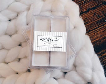 2 Mountain Air Wax Melts - Gift for her, gift for him.