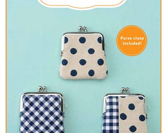 Zakka Workshop Classic Coin Purse Kit Fabric Pattern Quilting Sewing