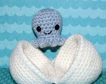 Crochet Pattern: Amigurumi Egg Babies, Octopus and Egg