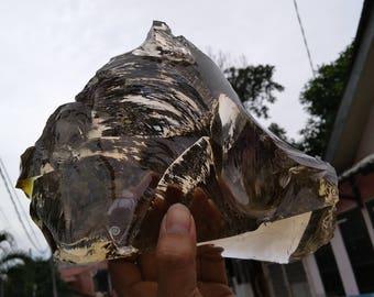 Rare golden light brown andara crystal 2kg
