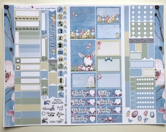 Easter Chick Personal Planner Sticker Kit: