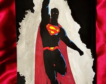 Superman Digital Print Wall Art - DC Comics