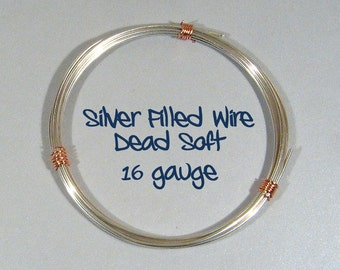 16ga DS Silver Filled Wire - Choose Your Length