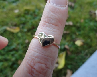 small ring heart