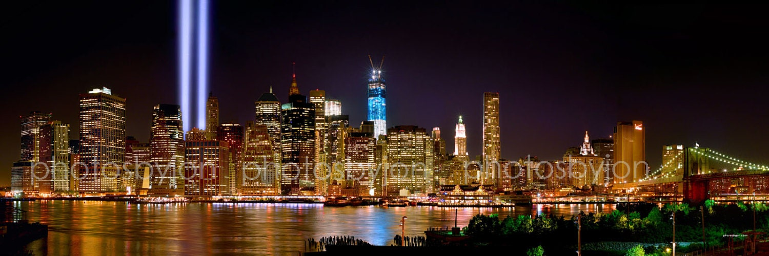 New york city nyc skyline night tribute in lights lower zoom voltagebd Image collections
