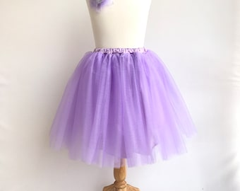 Adult lavender  tulle. Adult tutu skirt. Bridesmaids skirt. Wedding tulle. Adult party skirt. Adult lavender skirt.