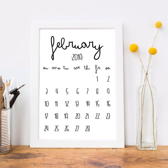 Image result for february 2019 printable calendar