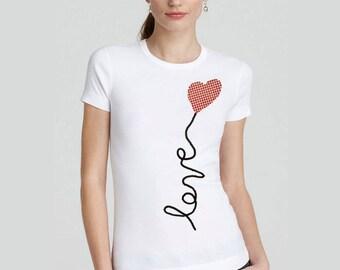 Love Shirt, Love T shirt, Love T-shirt, Love Tee