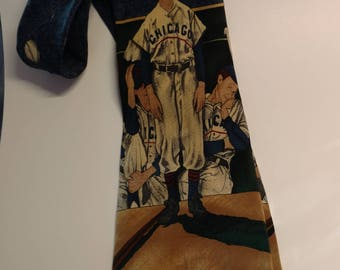 Vintage Norman Rockwell Necktie The Saturday Evening Post