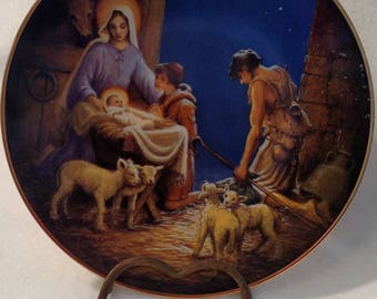 "1989 ""Adoration of the Shepherds"" from The Life of Christ Collection"