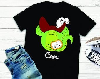 Disney Couple Vacation Shirts | Disney Shirt | Disney Inspired Shirt | Disney Vacation Shirt | Tic Toc Croc Shirt | Peter Pan Disney