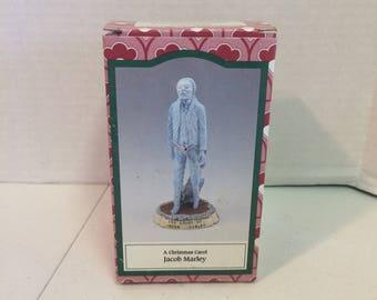 1993 Susan Safire Novelino A Christmas Carol Jacob Marley Figure,  1993 Susan Safire figurine, The Ghost of Jacob Marley
