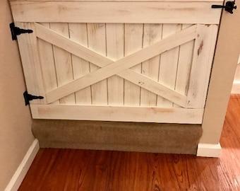 Rustic Dog Or Baby Gate Barn Door Style