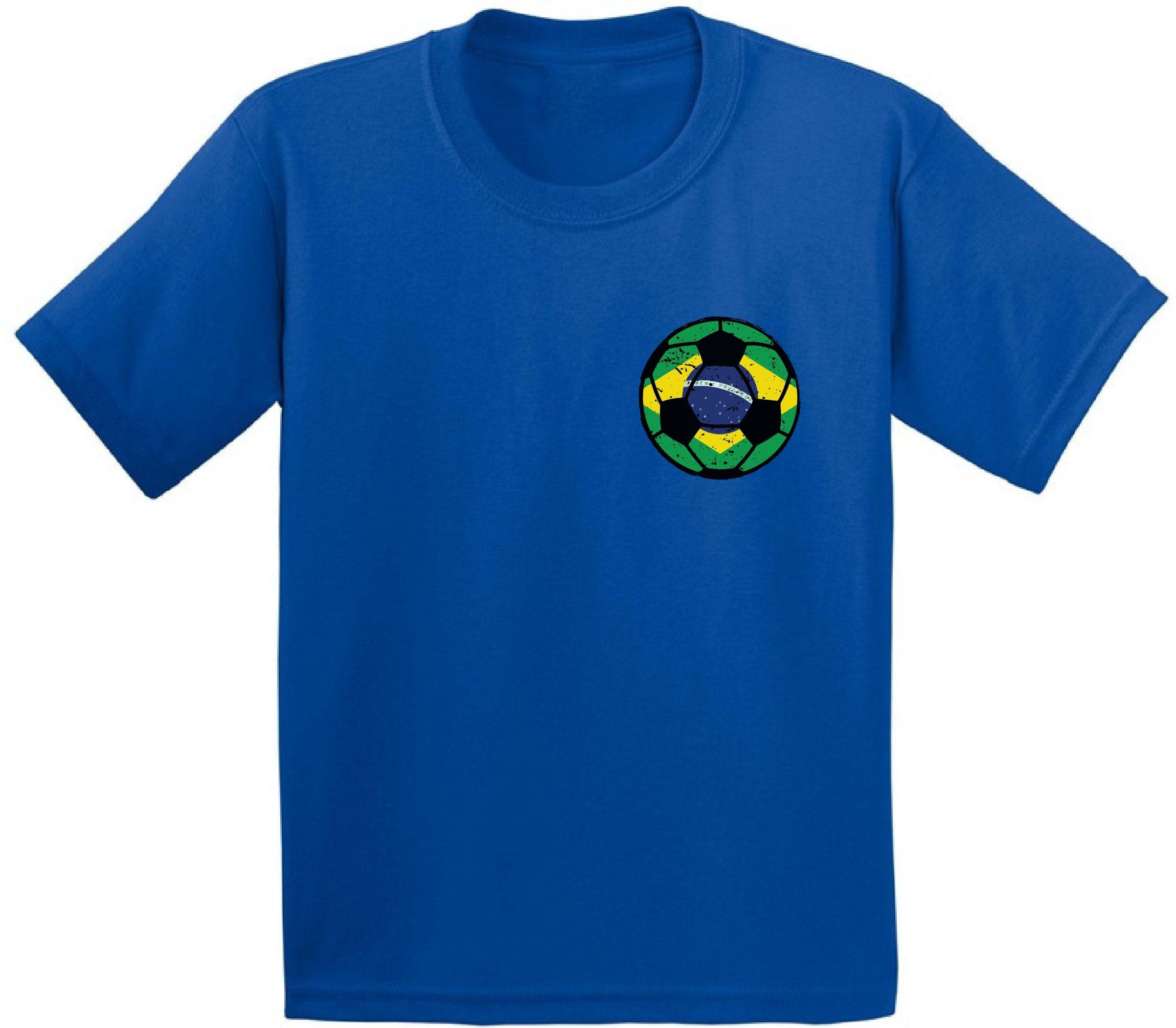 2380d83c Brazil Soccer Ball Infant Shirt Brazil Tshirt Brazil Soccer