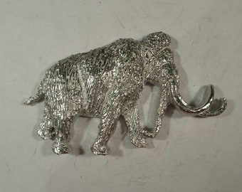 New ..Pygmy woolly Mammoth Pendant