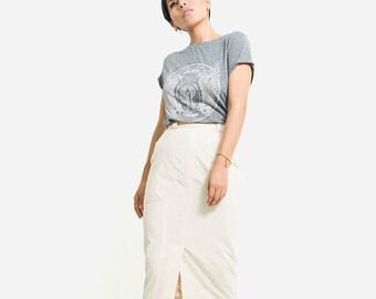 Pencil skirt/ long skirt/ maxi skirt/new long skirts organic cotton/ casual skirt/ summer skirt/ higt waist skirt