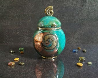Raku pottery urn, cremation urn for ashes, ceramic urn for human ashes, raku urn for pet ashes, funeral urn, pet urn, dog urn, cat urn
