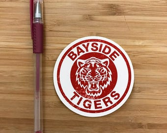 Bayside High Sticker, 90s TV shows, Cute Vinyl Decal Stickers, 1900s Kids, Custom Waterproof Sticker, Diecut Stickers