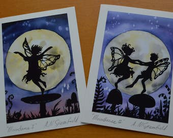 Dancing Fairies card set