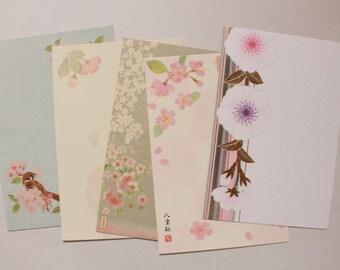 Cherry Blossom Postcard Set | Sakura Postcard Set - 5  Postcards - S16