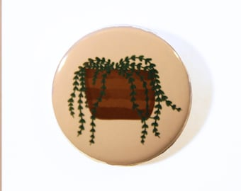 Plant Button badge 38mm