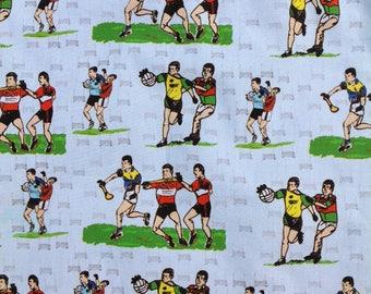 Gaelic football/hurling fabric