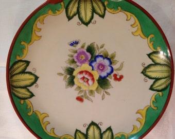 Hand-painted Noritake Plate Japan
