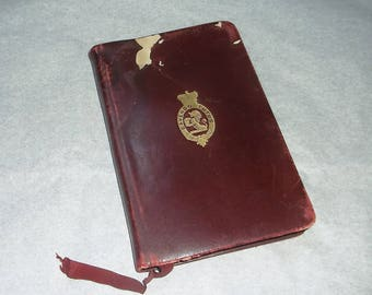 1896 book CHUBB & SON'S Lock and Safe Co. Ltd. • Makers To Her Majesty The Queen • Diary and Almanack • Small