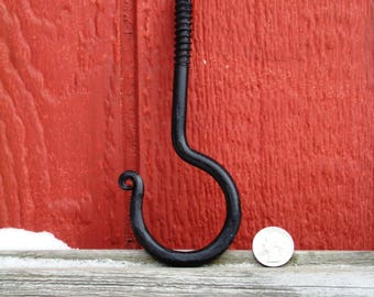 Extra Large Hand Forged Ceiling Hook