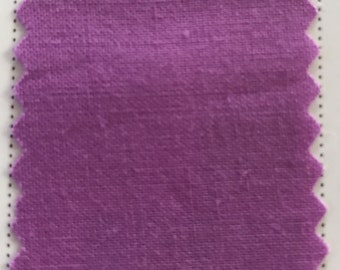 Bright Mauve Quilter's Homespun 100% Cotton Fabric 1/2m lengths