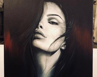 Whispers in the dark, Fine art Print
