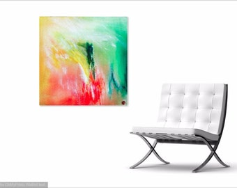 ENIGMA - Original Abstract Art on Canvas - Modern Art - Fine Art Print - Decorative Wall Art