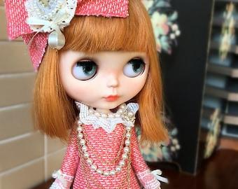 Old Time Set for Blythe/ Pullips Dress/ Azone Dress/ Licca Dress A82