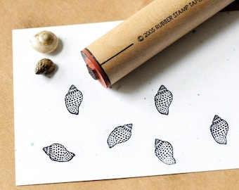 Babylon Shell Rubber Stamp