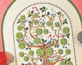 1+1 CROSS stitch. PATRON Genealogical Tree. Famous cross stitch pictures. A random cross stitch pattern is given Description optional.