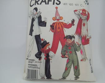 McCall's Sewing Pattern 2623 Boys and Girls Size 6-8