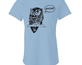 WHOM? - Ladies Babydoll T-shirt