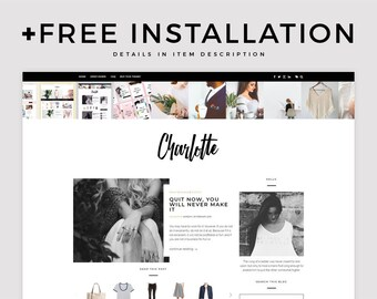 "Blogger Template - ""Charlotte"" 