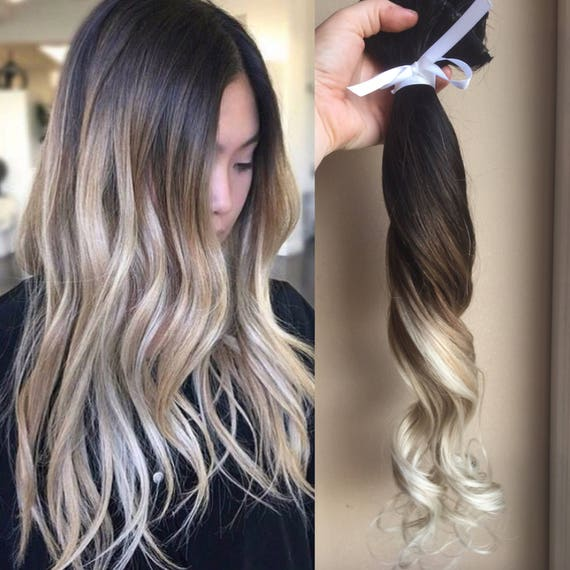 Ombre Hair Extensions Balayage Hair Extensions Wedding Hair