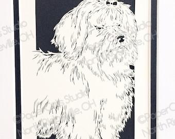 Maltese Papercutting- Handcut Original