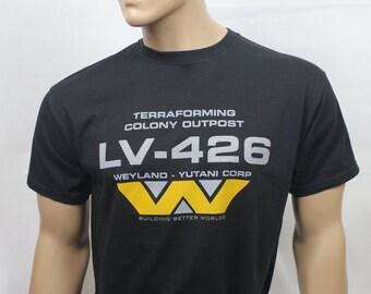 Alien inspired LV-426 Weyland Yutani t-shirt