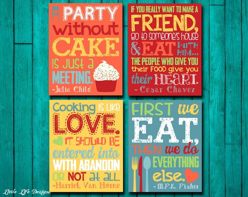 Kitchen Decor Wall Art Home