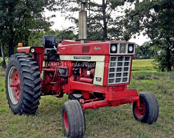 Case tractor etsy for International harvester decor