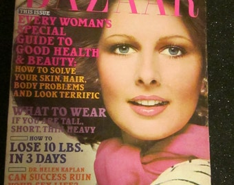 January 1976 BAZAAR Fashion MAGAZINE