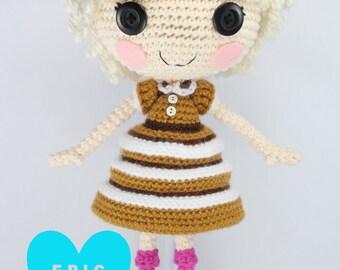 PATTERN: Bun Crochet Amigurumi Doll
