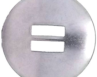"""Slotted Concho Stainless Steel Smooth  1-1/2"""" 1350-03"""