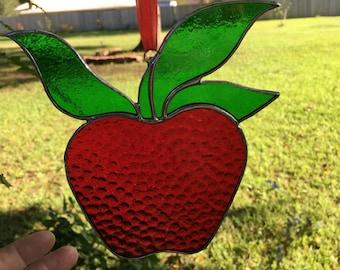 Red Apple For The Teacher
